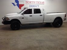 2012_Ram_3500_SLT 4x4 Diesel Dually Road Armor Winch Bluetooth Touch Screen_ Mansfield TX