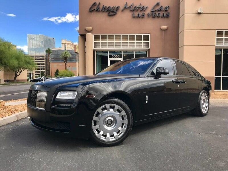 2012_Rolls-Royce_Ghost__ Chicago IL