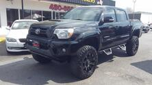 TOYOTA TACOMA CREW CAB 4X4, AUTOCHECK CERTIFIED, LIFTED, PREMIUM 18
