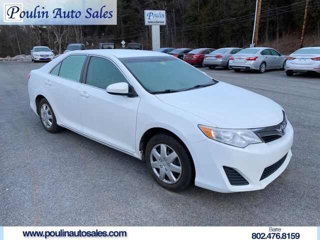 2012 Toyota Camry L Barre VT