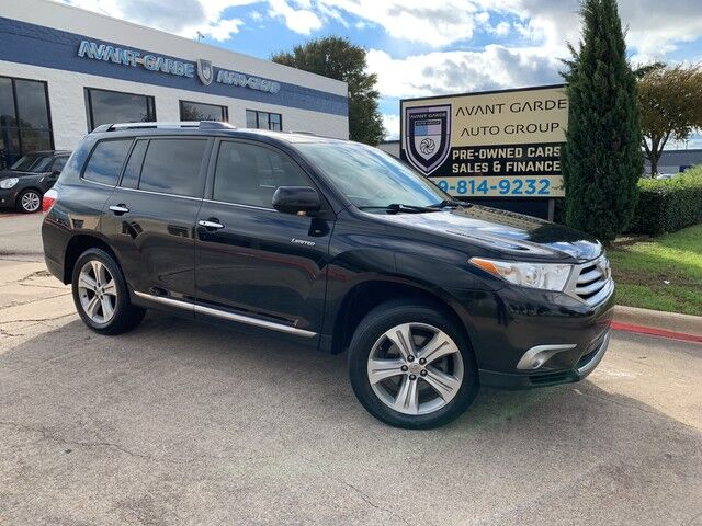 2012 Toyota Highlander Limited V6 NAVIGATION REAR VIEW CAMERA, DUAL REAR DVD, HEATED LEATHER, SUNROOF, JBL SOUND, 3RD ROW, TOW HITCH, LOADED AND EXTRA CLEAN!!! ONE OWNER!!! Plano TX