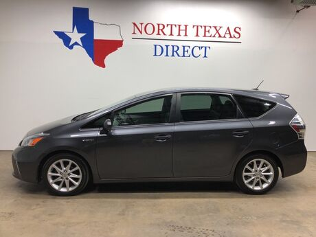 2012 Toyota Prius v Five Hybrid Technology Pkg Leather Alloy Wheels Touch Screen Mansfield TX