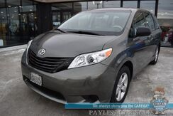 2012_Toyota_Sienna_/ Automatic / Power Locks & Windows / Aux Jack / Cruise Control / 3rd Row / Seats 7 / 24 MPG / Only 70k Miles_ Anchorage AK
