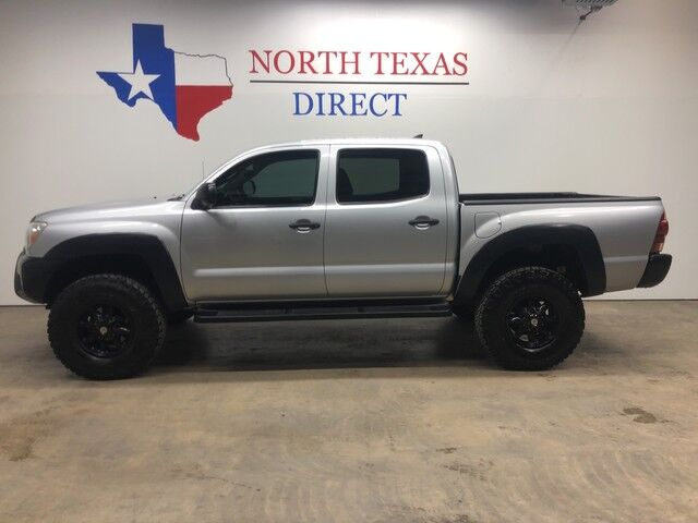 2012 Toyota Tacoma 4x4 Off Road Lifted Double Cab V6 American Outlaw Bedliner Mansfield TX