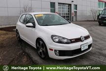 2012 Volkswagen GTI PZEV South Burlington VT