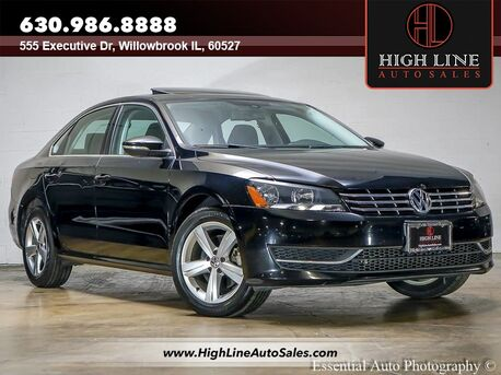 2012_Volkswagen_Passat_TDI SE w/Sunroof_ Willowbrook IL