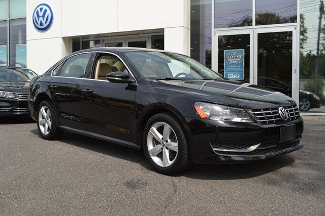 2012 Volkswagen Passat TDI SE w/Sunroof White Plains NY