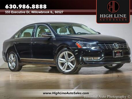 2012_Volkswagen_Passat_TDI SEL Premium_ Willowbrook IL