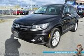 2012 Volkswagen Tiguan SE / 4X4 / Heated Leather Seats / Navigation / Panoramic Sunroof / Bluetooth / Cruise Control / Tow Pkg / 25 MPG / 1-Owner