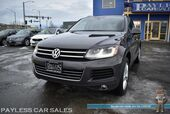 2012 Volkswagen Touareg Luxury TDI / AWD / 3.0L Turbo Diesel V6 / Power & Heated Leather Seats / Navigation / Panoramic Sunroof / Bluetooth / Back Up Camera / HID Headlights / Power Liftgate / Tow Pkg / Only 62K Miles / 28 MPG / 1-Owner