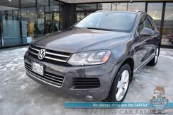 2012_Volkswagen_Touareg_TDI Lux / AWD / 3.0L V6 Turbo Diesel / Heated Leather Seats / Navigation / Panoramic Sunroof / Bluetooth / Back Up Camera / Power Liftgate / Tow Pkg / 28 MPG / 1-Owner_ Anchorage AK