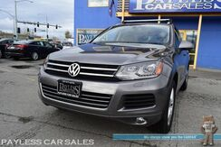 2012_Volkswagen_Touareg_TDI Lux / Turbo Diesel / 4MOTION AWD / Power & Heated Leather Seats / Panoramic Sunroof / Navigation / Bluetooth / Back Up Camera / Tow Pkg / Luggage Rack / 1-Owner_ Anchorage AK