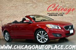 2012_Volvo_C70_T5 HARDTOP/CONVERTIBLE - 2.5L TURBOCHARGED I5 ENGINE FRONT WHEEL DRIVE NAVIGATION BROWN LEATHER HEATED SEATS DUAL ZONE CLIMATE_ Bensenville IL