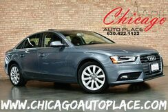 2013_Audi_A4_Premium QUATTRO - 2.0L TFSI TURBOCHARGED I4 ENGINE ALL WHEEL DRIVE 6 SPEED MANUAL BLACK LEATHER HEATED SEATS SUNROOF XENONS_ Bensenville IL