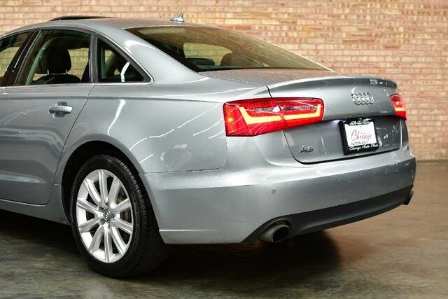 2013 Audi A6-QUATTRO 2.0T Premium Plus - 2.0L TFSI TURBOCHARGED I4 ENGINE QUATTRO ALL WHEEL DRIVE NAVIGATION BACKUP CAMERA KEYLESS GO BLACK LEATHER HEATED SEATS SUNROOF Bensenville IL