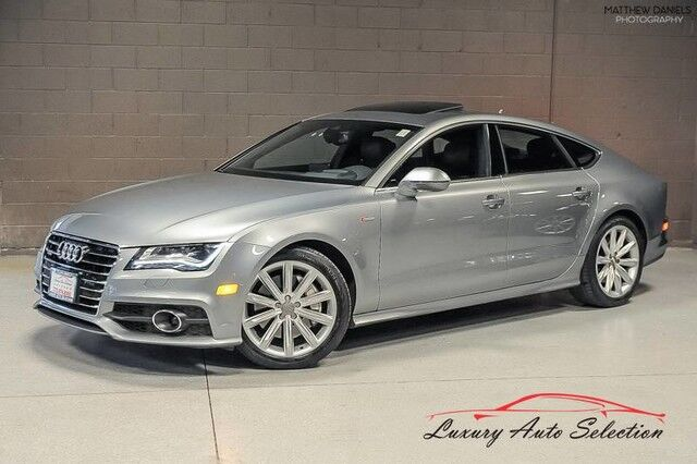 2013_Audi_A7 3.0 Quattro Prestige With Innovation Pkg_4dr Sedan_ Chicago IL