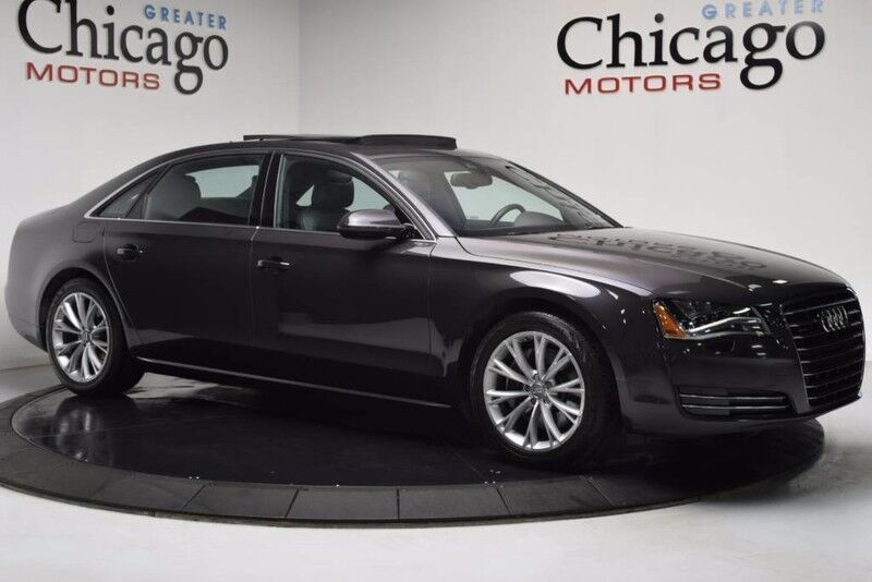 2013_Audi_A8 L 3.0L Very Nice 2 Owner_$85,095 MSrp Comfort Package_ Chicago IL