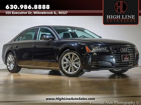 2013_Audi_A8 L_3.0L_ Willowbrook IL