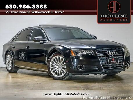 2013_Audi_A8 L_4.0L_ Willowbrook IL