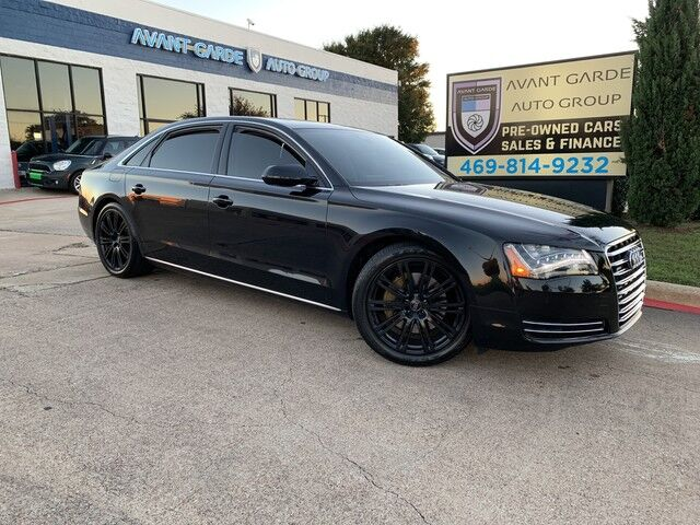 2013 Audi A8L 3.0T quattro NAVIGATION REAR VIEW CAMERA, UPGRADED SOUND, 22 WAY COMFORT HEATED/COOLED PREMIUM LEATHER SEATS, PANORAMIC ROOF, UPGRADE 20' WHEELS, LED LIGHTS !!! HARD LOADED!!! SUPER CLEAN!!! Plano TX