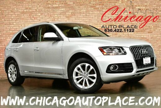 2013 Audi Q5 Premium - 2.0L TFSI TURBOCHARGED I4 ENGINE QUATTRO ALL WHEEL DRIVE BLACK LEATHER HEATED SEATS WOOD GRAIN INTERIOR TRIM DUAL ZONE CLIMATE Bensenville IL