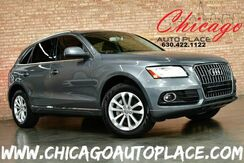 2013_Audi_Q5_Premium Plus QUATTRO - 2.0L TFSI TURBOCHARGED I4 ENGINE ALL WHEEL DRIVE BLACK LEATHER HEATED SEATS PANO ROOF POWER LIFTGATE XENONS_ Bensenville IL
