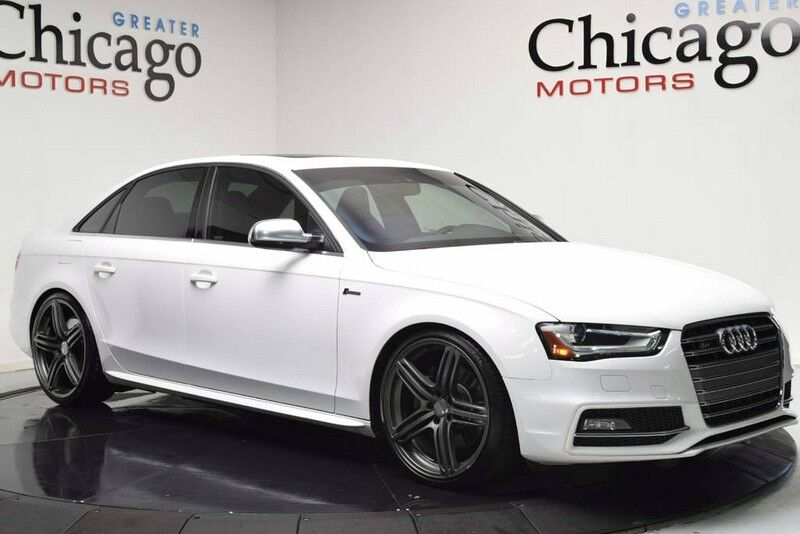 2013_Audi_S4 Prem Plus $57495 msrp+ Upgrad_White On Red~ 20 Wheels_ Chicago IL