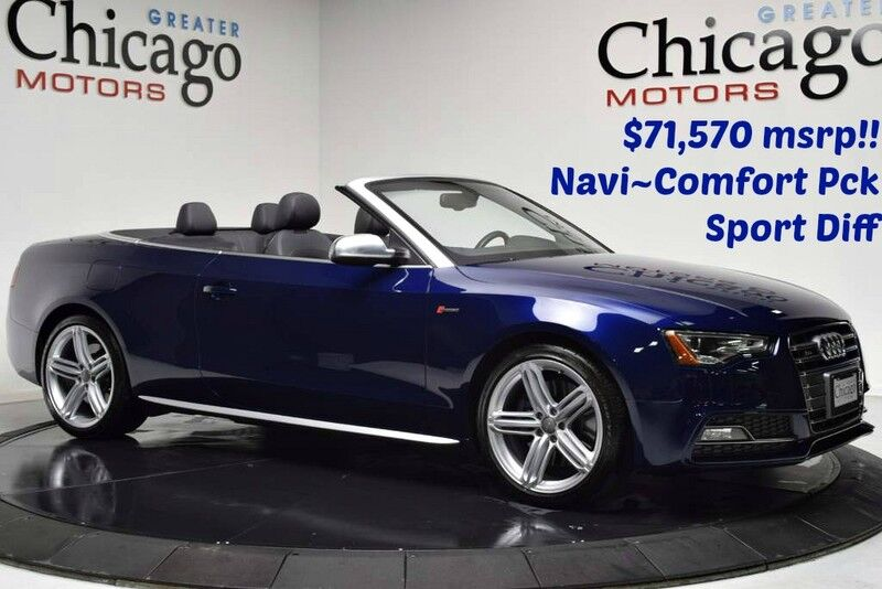 2013_Audi_S5 Premium Plus $71,570 msrp_12k in options!! Nav~Comfort Pack~Sports DIff!!_ Chicago IL