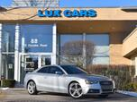 2013 Audi S5 Prestige Nav 6-Speed Manual Quattro MSRP $63,820