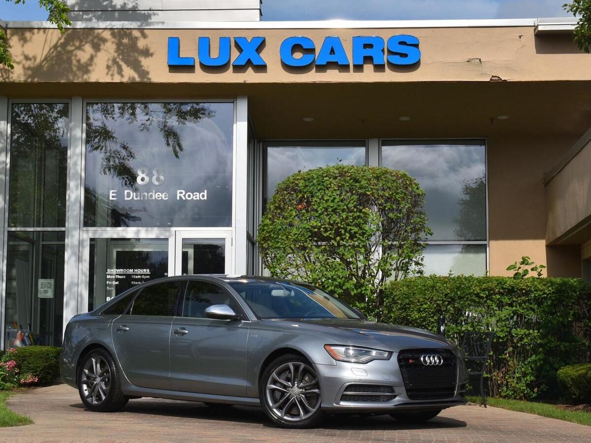 2013_Audi_S6_Prestige Nav Quattro MSRP $74,345_ Buffalo Grove IL