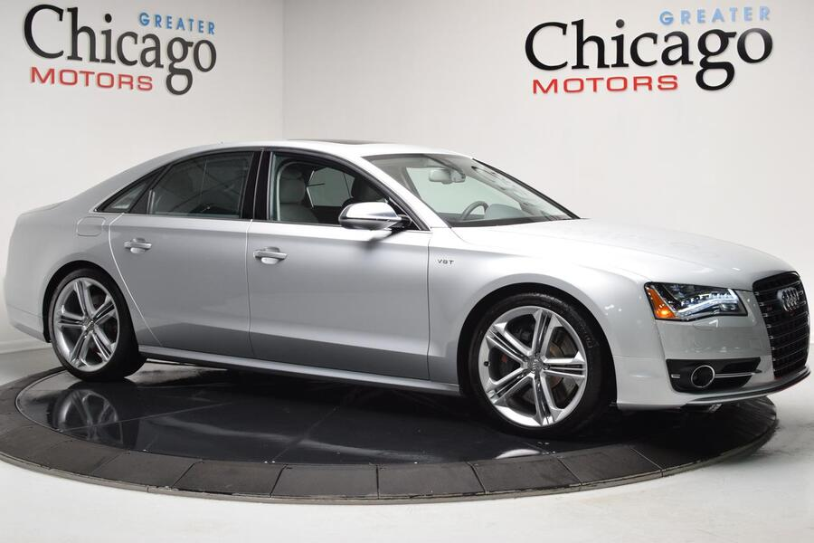 2013_Audi_S8__ Chicago IL