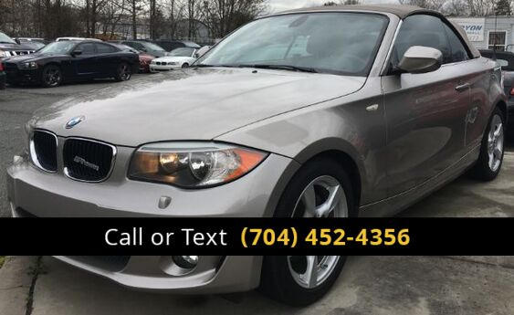 2013 BMW 1-Series 128i Convertible Charlotte and Monroe NC