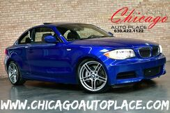 2013_BMW_1 Series_135i Coupe - M SPORT PACKAGE 3.0L INLINE 6-CYL 300HP ENGINE 6-SPEED MANUAL 1 OWNER REAR WHEEL DRIVE BLACK LEATHER HEATED SEATS SUNROOF XENONS_ Bensenville IL