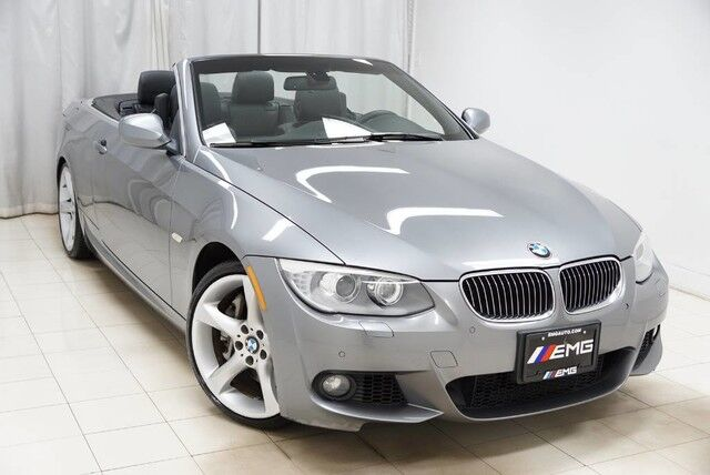 2013 BMW 3 Series 335i Cabrio M Sports Navigation Harmon Kardon 6 Speed Parking aid Avenel NJ