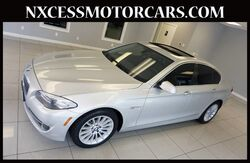 2013_BMW_5 Series_535i XENON ROOF HEATED SEATS CLEAN CARFAX._ Houston TX