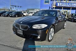 2013_BMW_5 Series_535i xDrive / AWD / M-Sport Pkg / Front & Rear Heated Leather Seats / Heated Steering Wheel / HUD / Navigation / Sunroof / Keyless Entry & Start / Bluetooth / 30 MPG_ Anchorage AK