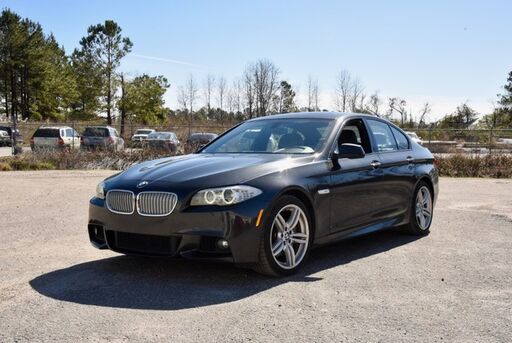 2013_BMW_5 Series_550i xDrive_ Wilmington NC