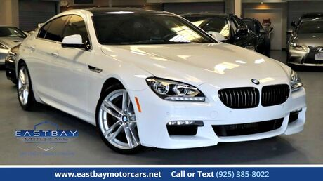 2013 BMW 6 Series 640i Gran Coupe M Sport Package San Ramon CA