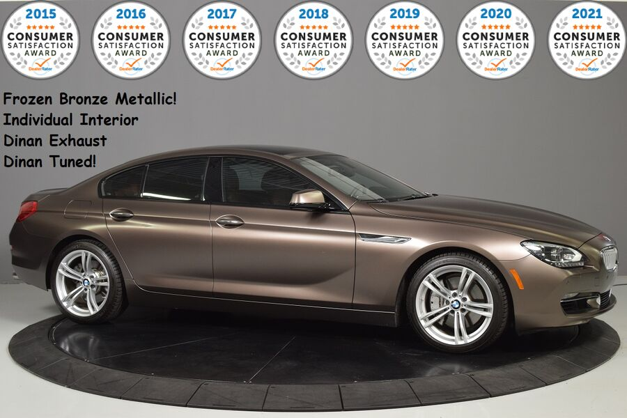 2013_BMW_650i xDrive $3000 Recent Service!_Frozen Bronze, Dinan Exhaust and Tune_ Glendale Heights IL