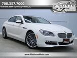 2013 BMW 650i xDrive Gran Coupe 1 Owner Nav Roof Loaded
