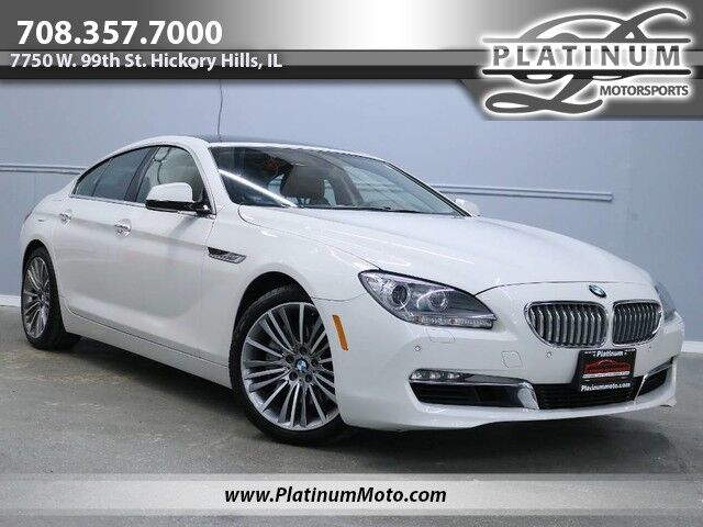 2013 BMW 650i xDrive Gran Coupe 1 Owner Nav Roof Loaded Hickory Hills IL