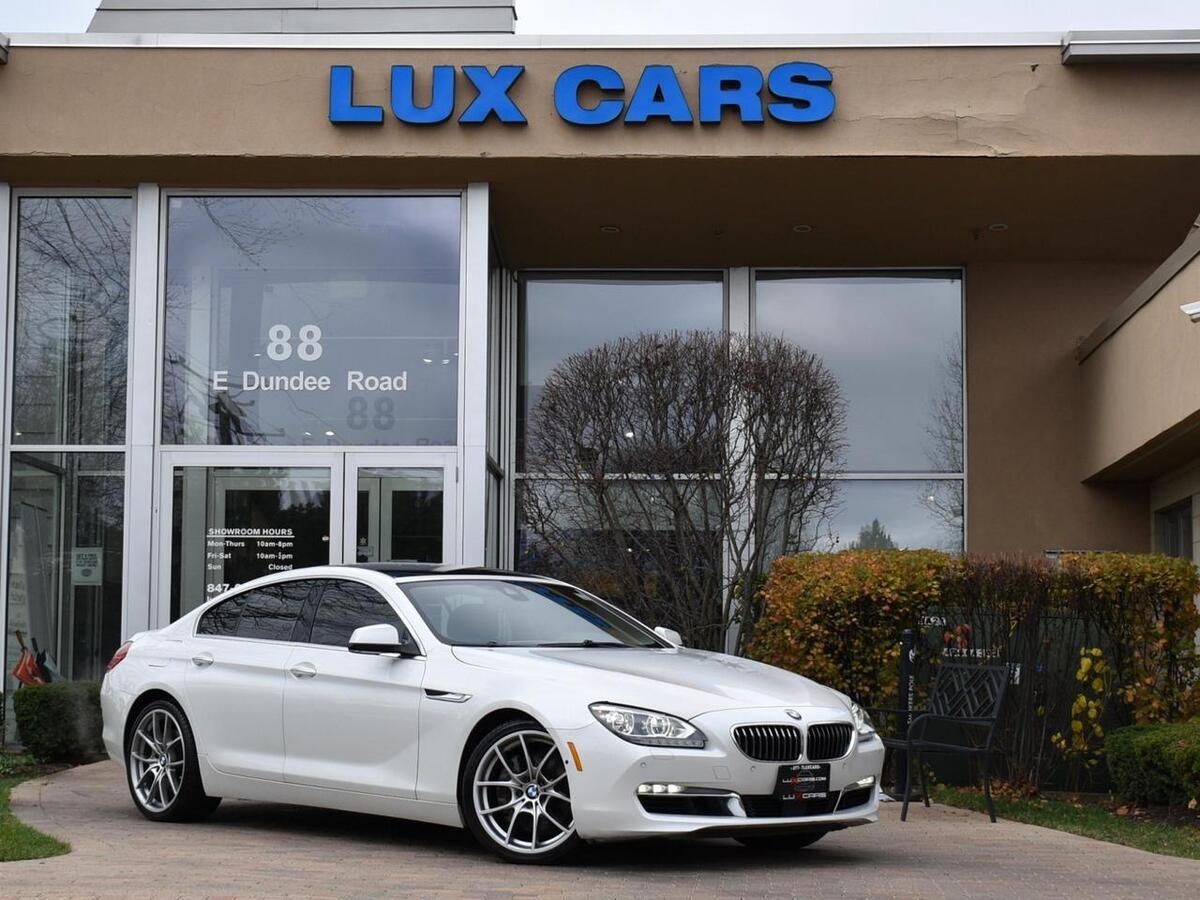 2013_BMW_650i_xDrive Panoroof Nav Night-Vision AWD MSRP $104,125_ Buffalo Grove IL