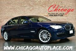2013_BMW_7 Series_750Li xDrive - M-SPORT PACKAGE 4.4L TWINPOWER TURBO V8 445HP XDRIVE AWD COLD WEATHER PACKAGE NAVIGATION BACKUP CAMERA PARKING SENSORS SUNSHADES ADAPTIVE XENONS_ Bensenville IL