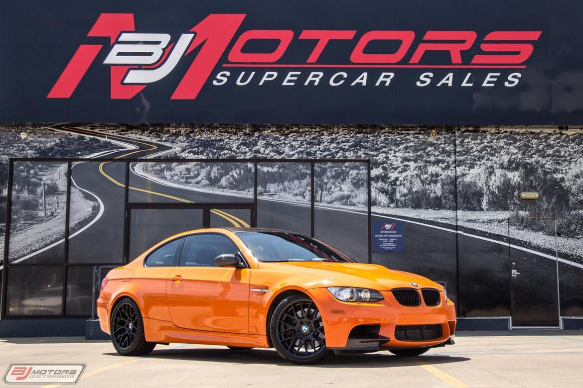 2013 BMW M3 Lime Rock Park Edition Tomball TX