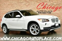 2013_BMW_X1_xDrive28i - 2.0L TWIN-POWER TURBCHARGED I4 ENGINE ALL WHEEL DRIVE PREMIUM PACKAGE COLD WEATHER PACKAGE PANO ROOF TERRA BROWN LEATHER HEATED STEERING WHEEL_ Bensenville IL