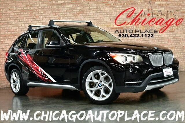 2013 BMW X1 xDrive35i - 3.0L TWINPOWER TURBOCHARGED I6 ENGINE 1 OWNER ALL WHEEL DRIVE NAVIGATION BACKUP CAMERA PANO ROOF KEYLESS GO BLACK LEATHER HEATED SEATS XENONS Bensenville IL