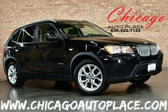 2013_BMW_X3_xDrive28i - 2.0L 240HP INLINE 4-CYL ENGINE ALL WHEEL DRIVE BLACK LEATHER HEATED SEATS PANO ROOF KEYLESS GO POWER LIFTGATE DUAL ZONE CLIMATE_ Bensenville IL