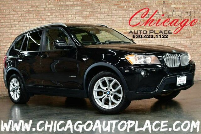 2013 Bmw X3 Xdrive28i 2 0l 240hp Inline 4 Cyl Engine All Wheel Drive Black Leather Heated Seats Pano Roof Keyless Go Power Liftgate Dual Zone