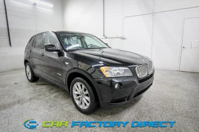 2013 BMW X3 xDrive28i AWD 4x4 Navigation Milford CT