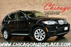 2013_BMW_X5_xDrive35i Premium - 1 OWNER 3.0L 300HP INLINE 6-CYL ENGINE ALL WHEEL DRIVE NAVIGATION BACKUP CAMERA KEYLESS GO PANO ROOF 3RD ROW SEATS BLACK LEATHER HEATED SEATS XENONS_ Bensenville IL